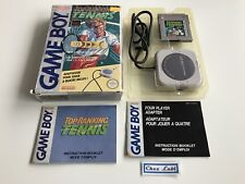 Top Ranking Tennis - Nintendo Game Boy - PAL FAH - Avec Boite et Notice
