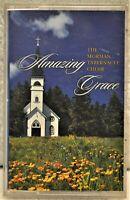 """MORMON TABERNACLE CHOIR """"Amazing Grace""""  Cassette"""