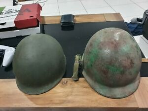 Australian Army Helmet : Military M1 1970s : Militaria