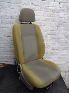 FIAT PANDA 2004 - 2010 5 DR PASSENGER LEFT NEAR SIDE FRONT SEAT YELLOW NSF