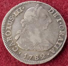Peru 2 Reales 1782 LIMAE MI (C2210)