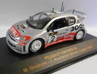 Ixo 1/43 Scale RAM085 PEUGEOT 206 WRC WINNER CYPRUS 02