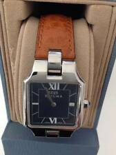 Enigma By Gianni Bulgari Ladies Brown/Green Interchangeable Leather Strap  Watch