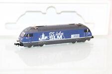 Minitrix N 12699 Schweiz E-Lok Re 4/4 465 001-6 SLM der SBB in OVP LA190
