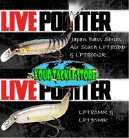Lucky Craft LPT80MR LPT80DD LPT80D2R LPT95MR SP Live Pointer Pick Size Color&Qty