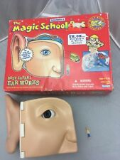 Vintage 1995 Magic School Body Safari Ear Works Medical science Educ Toy Ent set