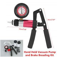 22pc Hand Held Vacuum Pressure Pump Tester Brake Bleeder Bleeding Tool Car Motor
