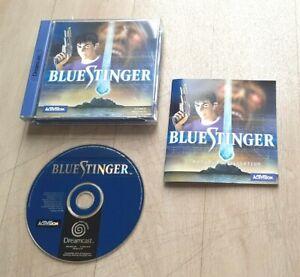 Blue Stinger - SEGA Dreamcast DC Activision - Complet - PAL FRA - Très Bon Etat