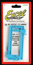 """Small Clamp 1x3.5"""" (2) EXCEL HOBBY BLADES EXL55663"""