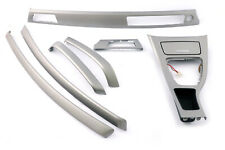 BMW 3 Series E90 E91 Complete Interior Trim Set Dash Dashboard Titan 90 Silver