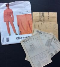 Vogue Designers Sewing Pattern Issey Miyake 2271 Sz 12 Jacket Pants Loose Fit FF