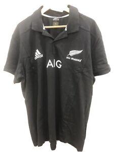 New Zealand All Blacks Jersey Polo XL