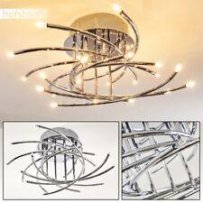 Plafonnier en métal Lampe à suspension Lustre Lampe de corridor Luminaire Chrome