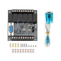 PLC Industrial STM32 Control Board FX1N-14MR Programmable Controller 10-28V