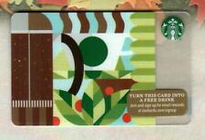 STARBUCKS Go Green 2015 Gift Card ( $0 )