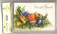 Vintage Come for Brunch Invitations Cards 8 Count Hallmark Plans-a-Party Fruit