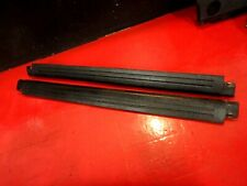 98-05 VW NEW BEETLE DRIVER PASSENGER DOOR SILL PLATE PLASTIC COVER STEP BLACK