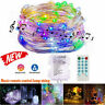Music Control Sound Activated 100 LED String Light Remote Bar Parties Christmas