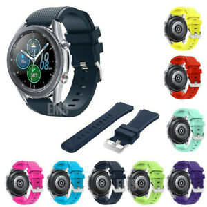 For Samsung Galaxy Watch 3 S3 46mm Sport Silicon Replacement Bracelet Strap Band