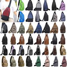 Men Crossbody Sling Bag Backpack Chest Travel Pack Cycle Sports Shoulder Bag