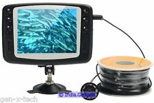 Underwater Marine Fishing Camera With Monitor: 30M Line: Diving Sea Life Salvage