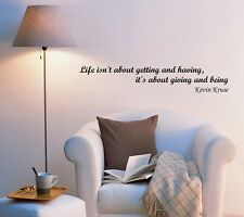 Wall Decal Words of Wisdom Office Wise Lettering Vinyl Sticker (ed958)