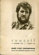 Robert Roussil, 1965-1966, Musée d'art contemporain Guy Robert signé signed