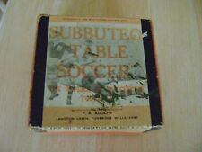 More details for subbuteo- 1950s square red box set with customised!! london derby card players-