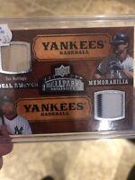 2008 Upper Deck Ballpark Collection Derek Jeter/ Mattingly Baseball Card Yankees