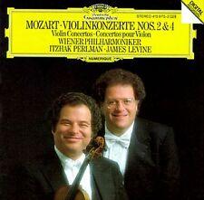 Mozart-Violinkonzerte NOS. 2 & 4 ltzhak perlman James Levine