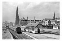 pt6582 - Wrexham Central Railway Station , Wales - photo 6x4