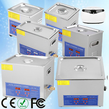 650ml-15L Ultrasonic Cleaner Cleaning Equipment Industry Heated W/Timer Heater