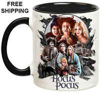 Hocus Pocus, Birthday, Halloween Gift, Black Mug 11 oz, Coffee/Tea