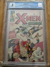 Uncanny X-Men #1 CGC .5 1963 1st app. X-Men Lee Kirby Magneto New Cover Comic