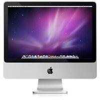 """Apple iMac A1224 20"""" Intel Core 2 Duo 2GB RAM 2GHz 250GB HDD El Capitan"""