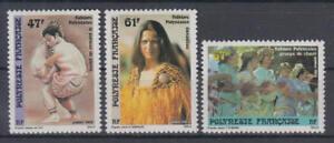 Französisch Polynesien (Polynesie Francaise): Michel-Nr. 532-534 postfrisch/**