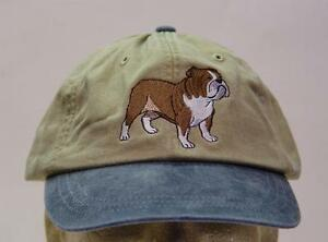 ENGLISH BULLDOG HAT WOMEN MEN BASEBALL DOG CAP Price Embroidery Apparel