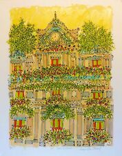 "Susan Pear Meisel ""Hotel Roma"" signed and numbered lithograph"