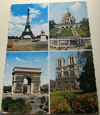 France Paris L'arc de Triomphe Sacre Coeur Notre Dame Cathedrale La Tour Eiffel
