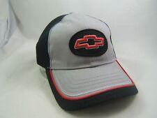 GM Chevrolet Hat Gray Black Snapback Trucker Cap w/ Tag