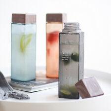 450ml Tragbar Trinkflasche Wasserflasche Flaschen Milch Getränke Flasche  D