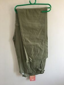 NEW highlander Africa zip off walking trousers in sage small sizes