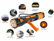 9 in 1 Multi Functional Emergency Rescue Tool-Safety Hammer, Seatbelt Cutter