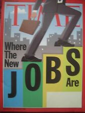TIME MAGAZINE NOVEMBER 24 2003 WHERE THE NEW JOBS ARE BY LISA TAKEUCHI CULLEN