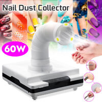 Nail Salon Suction Dust Collector Remover 60W Vacuum Cleaner Manicure Machine