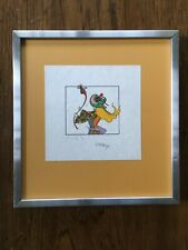 Awesome PETER MAX 1975 FLOWER LADY Psychedelic Art SIGNED Ltd. 47/50