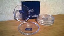 MIKASA *NEW* PASHMINA Set 5 dessous de verre d.10cm Coasters