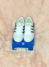 Adidas Superstar Foundation Originals White/Grey Men's Sz: 6.5 Shell Head