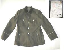 DDR NVA Uniform 1971 Jacke schwarzer Kragen g48-1 east german dark collar tunic