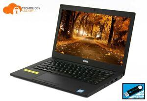 """Dell Latitude 7280 Laptop 12.5"""" Intel i7-6600U 8GB RAM 256GB SSD FHD Win 10 Pro"""